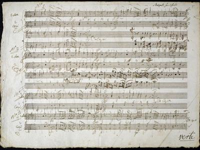 Sheet Music by Mozart: Six Contre Danses