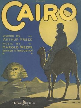 Sheet Music for Cairo