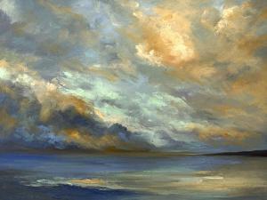 April Coastal Clouds by Sheila Finch