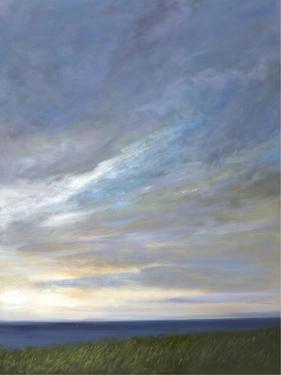 Coastal Clouds Diptych II by Sheila Finch