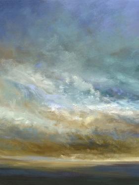 Coastal Clouds Triptych I by Sheila Finch