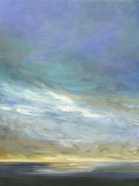 Coastal Clouds Triptych II by Sheila Finch