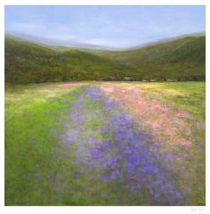 Flowers of Half Moon Bay I by Sheila Finch
