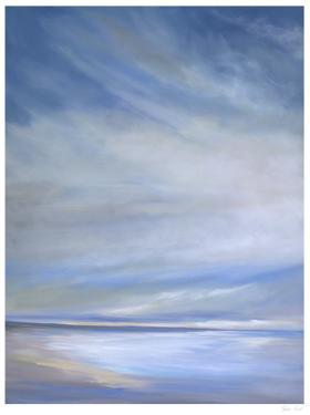 Heavenly Light Triptych I by Sheila Finch