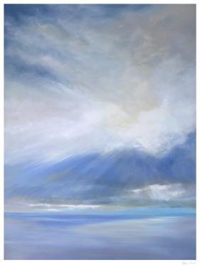 Heavenly Light Triptych II by Sheila Finch