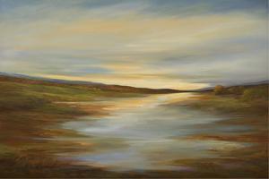Meadow Sunset by Sheila Finch