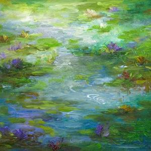Water Lily Pond #1 by Sheila Finch