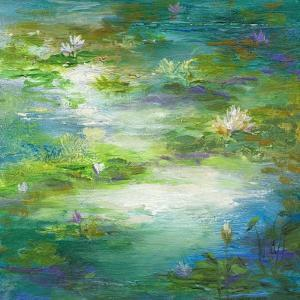 Water Lily Pond #2 by Sheila Finch