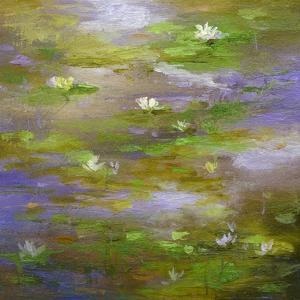 Water Lily Pond #3 by Sheila Finch