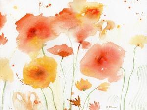 Orange Yellow by Sheila Golden