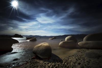Serene Landscape of Lake Tahoe by Sheila Haddad