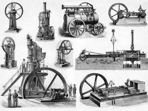 19th Century Steam Engines by Sheila Terry