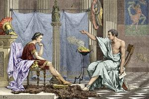Alexander of Macedon And Aristotle by Sheila Terry