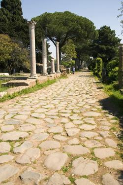 Roman Road, Ostia Antica by Sheila Terry
