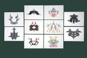 Rorschach Inkblot Test by Sheila Terry