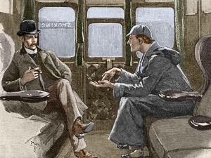 Sherlock Holmes And Dr. Watson by Sheila Terry