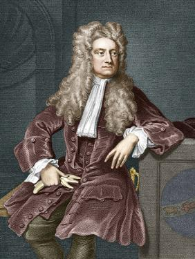 Sir Isaac Newton, British Physicist by Sheila Terry