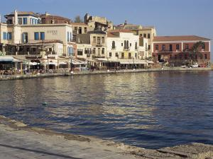 The Outer Harbour, Chania, Crete, Greece by Sheila Terry