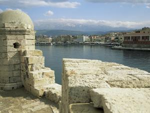 View from the Lighthouse of Chania, Crete, Greece by Sheila Terry