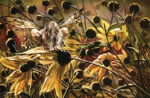 Sheila Wolk Chameleon Art Print Poster