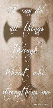 All Things Through Christ by Sheldon Lewis
