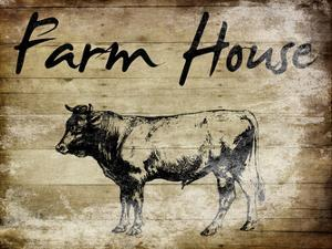 Farm House Bull by Sheldon Lewis