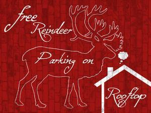 Free Reindeer Parking by Sheldon Lewis