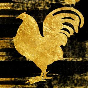 Gold Rush Rooster by Sheldon Lewis