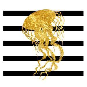 Golden Jelly Fish by Sheldon Lewis