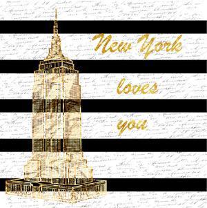 Golden New York Romance by Sheldon Lewis