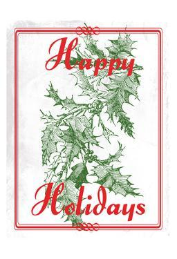 Happy Holidays by Sheldon Lewis