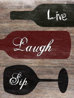Live Laugh Sip by Sheldon Lewis