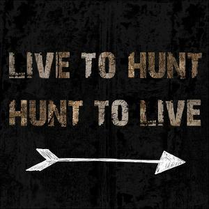 Live To Hunt by Sheldon Lewis
