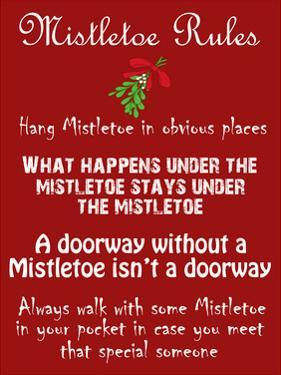 Mistletoe Rules by Sheldon Lewis