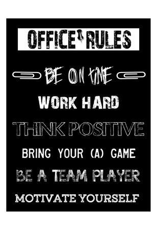 posters for office. Office Rules 1Sheldon Lewis Posters For O