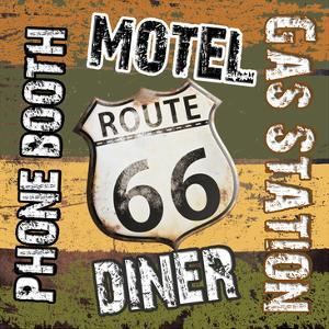 Route 66 Comforts by Sheldon Lewis