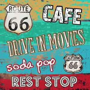 Route 66 Luxuries by Sheldon Lewis