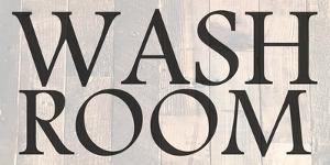 Washroom by Sheldon Lewis