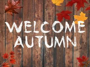 Welcome Autumn by Sheldon Lewis