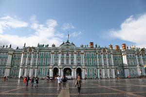 Winter Palace, Hermitage Museum, St Petersburg, Russia, 2011 by Sheldon Marshall