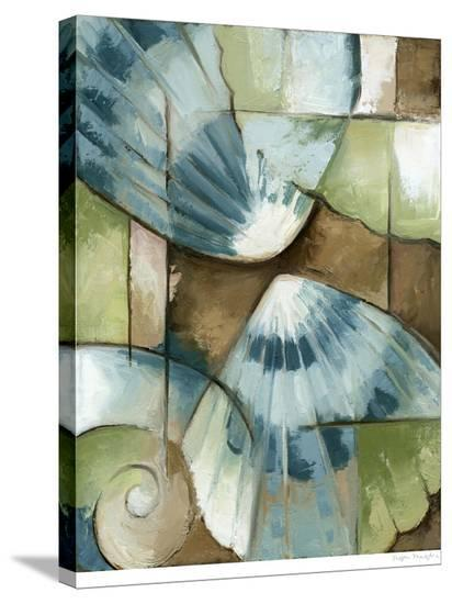 Shell Collage II--Stretched Canvas Print