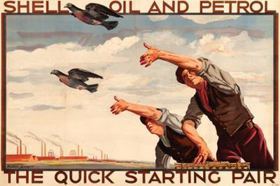 Shell Oil and Petrol Pigeons