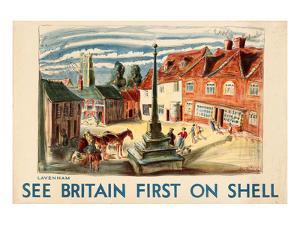 Shell See Britain Lavenham