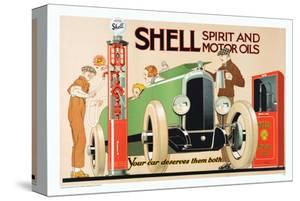 Shell Spirit and Motor Oils