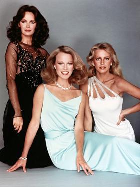 Shelley Hack, Jaclyn Smith, Cheryl Ladd, Charlies Angels, 1976