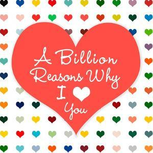Billion Reasons by Shelley Lake
