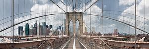 Brooklyn Bridge by Shelley Lake