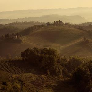 Sunrise over Tuscany I by Shelley Lake