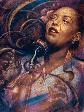 Billie Holiday: Lady Day by Shen