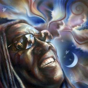 Clarence Clemons by Shen